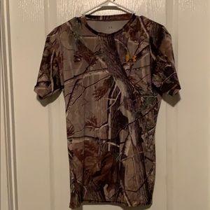 Under armour camp shirt